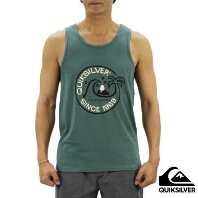 【QUIKSILVER】INTO THE WIDE TANK 背心 綠色
