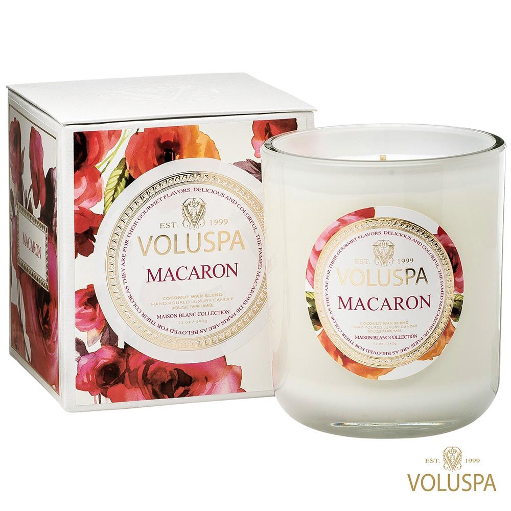 美國香氛VOLUSPA 白屋系列 Macaron 馬卡龍 340g