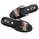 魔法Baby NBA授權騎士隊室內拖鞋-黑sk0435