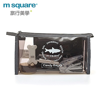 M Square親水系列PVC透明防水包S