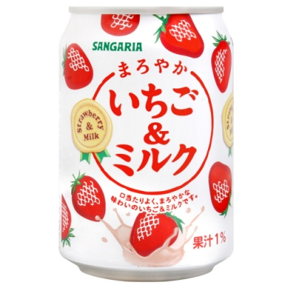 Sangaria 草莓牛奶風味飲料(275g)