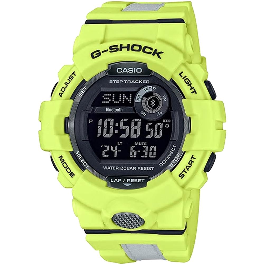 G-SHOCK  G-SQUAD 夜間運動錶(GBD-800LU-9)