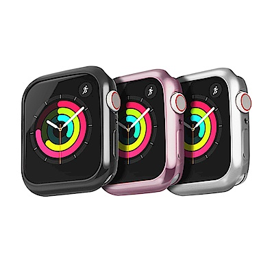 DUX DUCIS Apple Watch S4 (44mm) 電鍍 TPU 套組