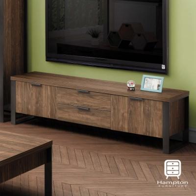 漢妮Hampton錫德系列兩門兩抽電視櫃-152.4*39.5*45 cm