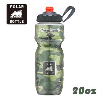Polar Bottle 20oz噴射保冷水壺 Camo 迷彩系列