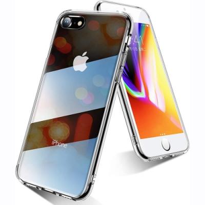 透明殼專家 iPhone   SE2  清透鋼化玻璃殼