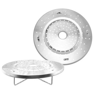 不鏽鋼提高蒸盤-19cm-2入