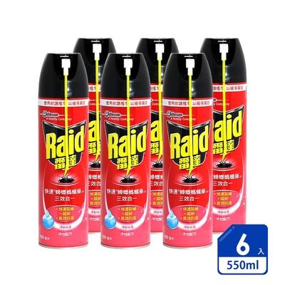 雷達 快速蟑螂螞蟻藥-無味(550ml × 6入超值組)