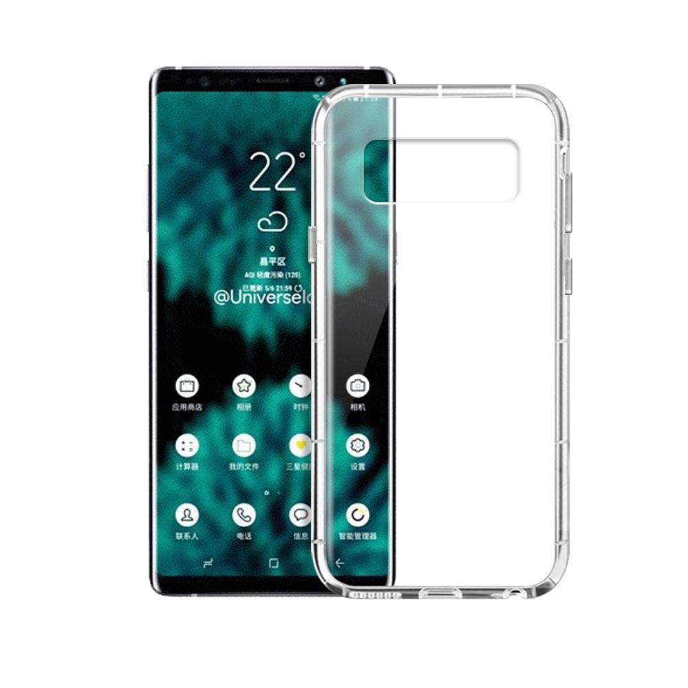 Xmart for Samsung Galaxy Note 9 加強四角防護防摔空壓氣墊殼