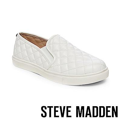 STEVE MADDEN-ECENTRCQ 平底懶人鞋-白色