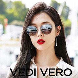 VEDI VERO 水銀面 β鈦 太陽眼鏡 (灰色漸層)VE854