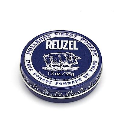 荷蘭 REUZEL豬油 深藍豬 黑豬 強力纖維級水性髮泥 1.3oz/35g 水洗式髮油