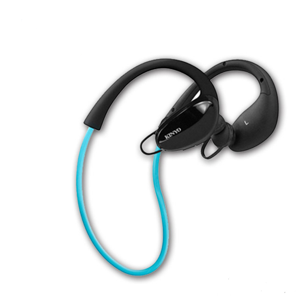 KINYO 智能降燥立體聲藍芽耳機麥克風(BTE-3665)三點固定運動型