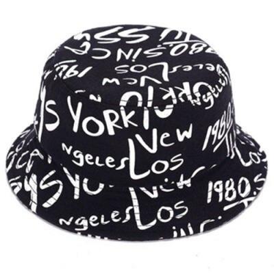 米蘭精品 漁夫帽毛呢防曬遮陽帽-時尚塗鴉復古經典情人節生日禮物男女帽子73db22