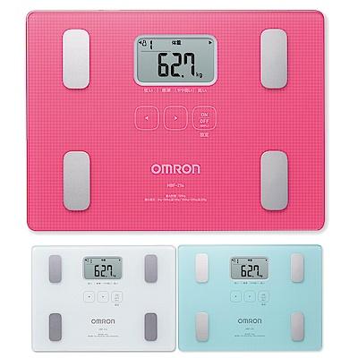 [時時樂限定]OMRON歐姆龍 體重體脂計HBF-216(粉紅色/白色/藍色) 3色任選1