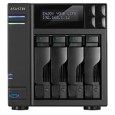 【促銷組合】ASUSTOR AS-6404T 4 bay+Seagate 2TB*4