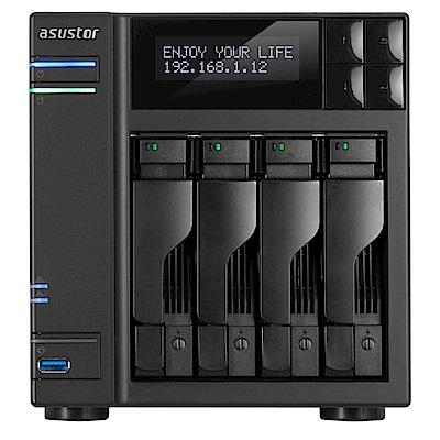 [促銷]ASUSTOR AS6404T 4 Bay NAS網路儲存+WD20EFRX碟*4