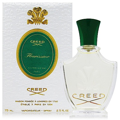 CREED FLEURISSIMO 花期女性淡香精 75ml (法國進口)