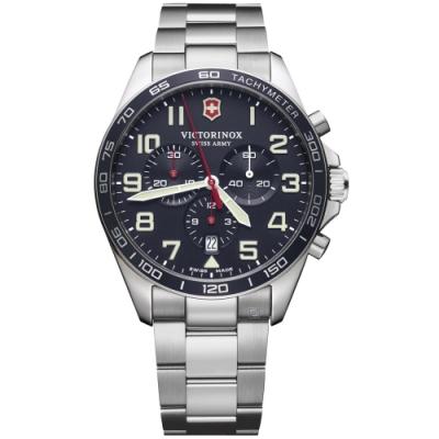 VICTORINOX瑞士維氏Fieldforce計時手錶(VISA-241857)
