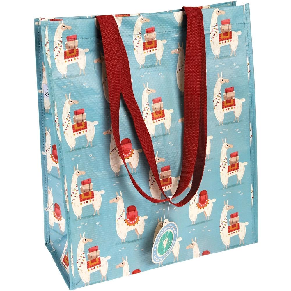 《Rex LONDON》環保購物袋(羊駝)