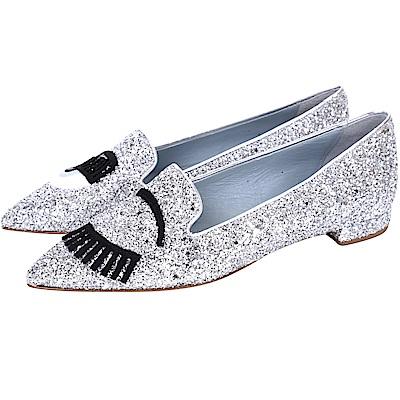 Chiara Ferragni Flirting 眨眼亮片尖頭鞋(35號/展示品)