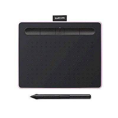福利品-Wacom Intuos Comfort Small 繪圖板 (藍芽版)-粉