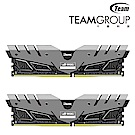 TEAM十銓DARK ROG灰色 DDR4 3000 16GB(8GX2) 桌上型記憶體