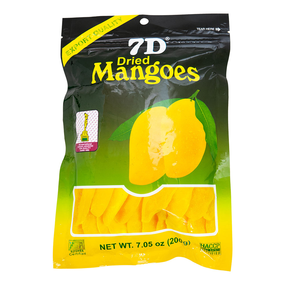 7D 菲律賓芒果乾(200g)