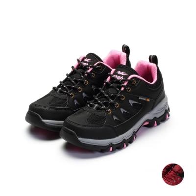 COMBAT艾樂跑女鞋-戶外運動鞋-黑/紅(FA599)