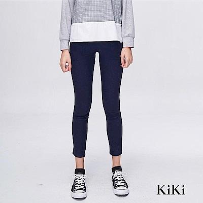 【KiKi】簡約舒適顯瘦-長褲(共二色)