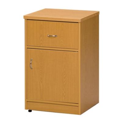 顛覆設計 防水塑鋼單抽單門置物櫃/收納櫃(兩色可選)-44x41x72cm