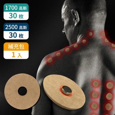 家適帝 台灣製加強版舒緩磁氣絆超值組(1700gx3+2500gx3+貼布補充包x1)