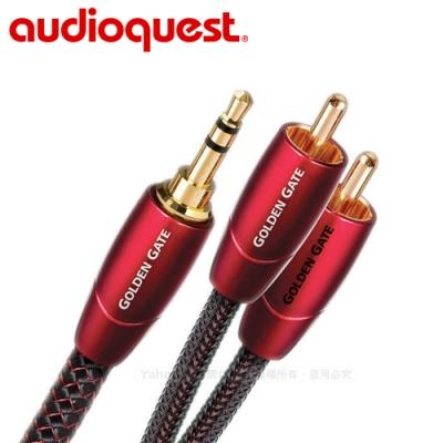 美國 Audioquest Golden Gate訊號線(3.5mm-RCA) -2M