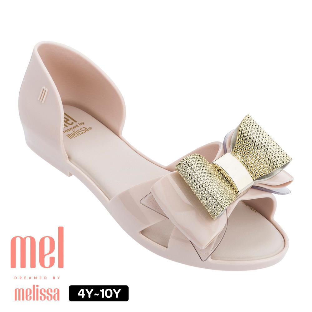 Melissa 蝴蝶結造型涼鞋(兒童款)-白
