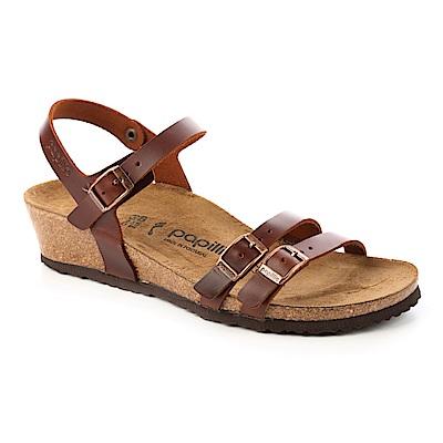 勃肯Papillio 1008774。LANA拉娜 高跟涼鞋(咖啡色)