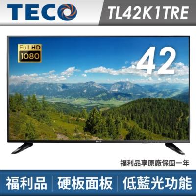 福利品TECO東元 42吋FHD液晶顯示器+視訊卡TL42K1TRE
