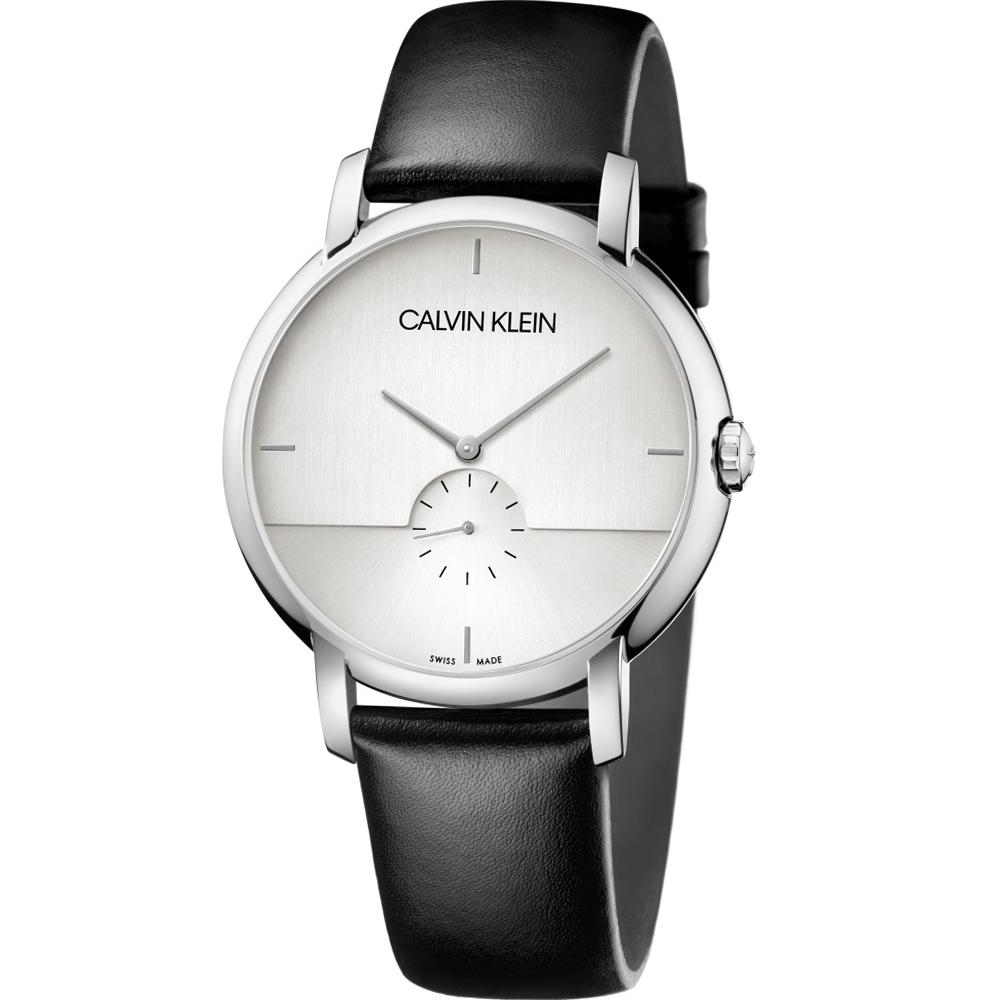 Calvin Klein  Established 小秒針時尚錶(K9H2X1C6)