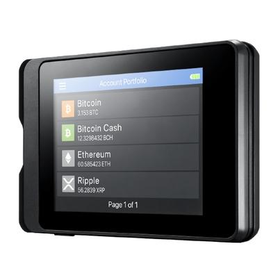 安瀚科技 SecuX W10 加密貨幣硬體錢包 (英飛凌安全晶片 USB 觸控螢幕 比特幣 以太幣 虛擬貨幣 冷錢包)