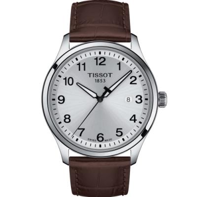 TISSOT GENT XL CLASSIC 經典大三針男錶(T1164101603700)