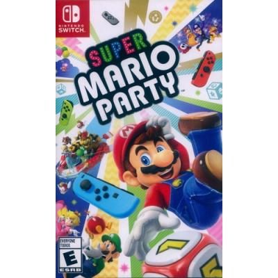 超級瑪利歐派對 Super Mario Party - NS Switch 中英日文美版