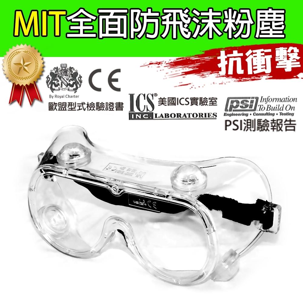 黑魔法 MIT全面性防飛沫粉塵透氣包覆式護目鏡 台灣製造