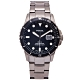 FOSSIL 黑水鬼款式不鏽鋼錶帶手錶(FS5655)-黑面X黑色/42mm product thumbnail 1