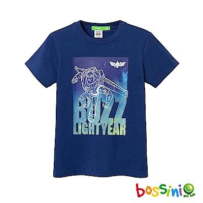 bossini男童-玩具總動員印花T恤-巴斯光年02淺綠松