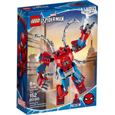 樂高LEGO 超級英雄系列 - LT76146 Spider-Man Mech