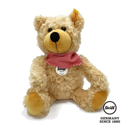 STEIFF德國金耳釦泰迪熊  Charly Teddy Bear 查理泰迪熊  (可愛泰迪熊)