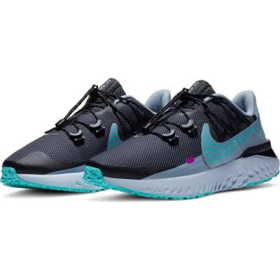NIKE 慢跑鞋 緩震 訓練 運動鞋 女鞋  黑綠 CU3866403 W NIKE LEGEND REACT 3 SHIELD