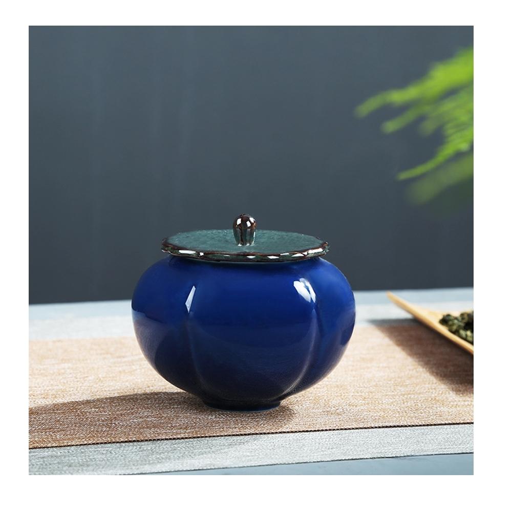 原藝坊 柿柿如意密封茶葉罐儲物罐 如意 (罐子尺寸9*8cm)