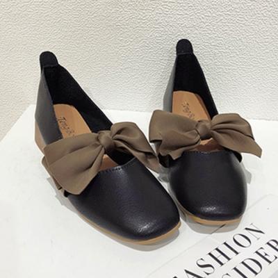 KEITH-WILL時尚鞋館 迷人可愛蝴蝶跟鞋-黑色