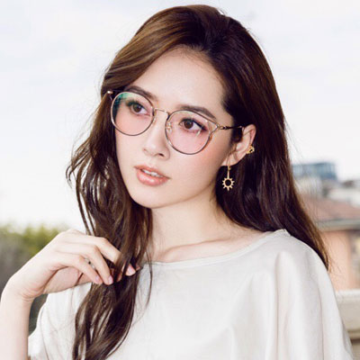 SEROVA眼鏡 典雅時尚/玫瑰金#SL272 C01