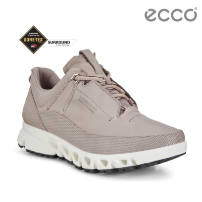 ECCO MULTI-VENT 全方位城市戶外運動休閒鞋 女-灰粉